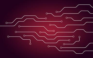 Background illustration of chipset