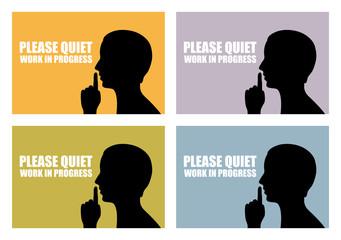 Quiet vector sign