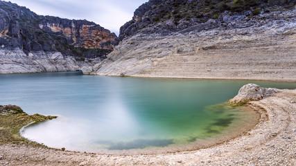 Landscape lake. Spain