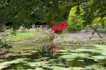 small red bridge