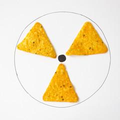 Conceptual radiation symbol
