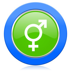 sex icon gender sign