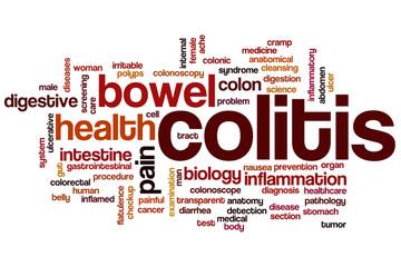 Colitis word cloud