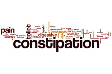 Constipation word cloud