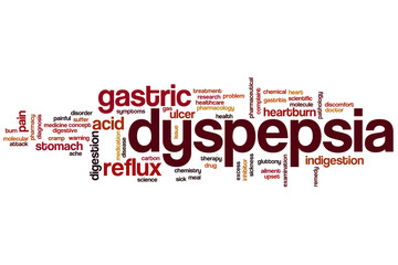 Dyspepsia word cloud