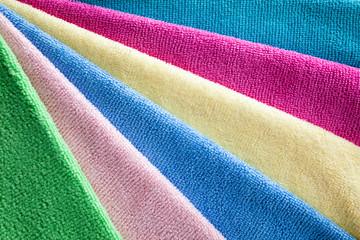 Bath colorful towels