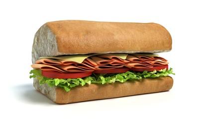 Half of a Sub Sandwich