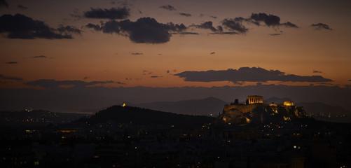 Athens, Greece, Acropolis View