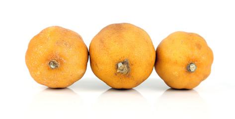 Drei alte Zitronen