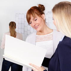 Discussion between employers and employees