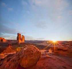 USA, Utah, Desert landscape