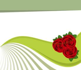 Banner di rose
