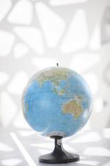 Globe showing Asia and Australia