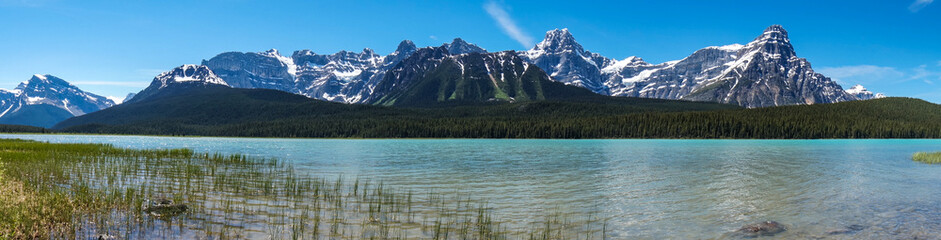 Canada, Alberta, Banff National Park, Upper Waterfowl Lake