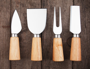 Cheese knives and fork