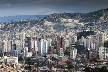 Bolivia, La paz, the capital city
