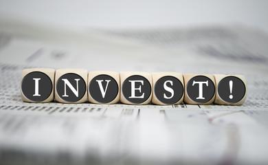 Würfel mit Invest