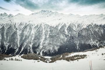 Beautiful view from Grossglockner-Heiligenblut ski resort