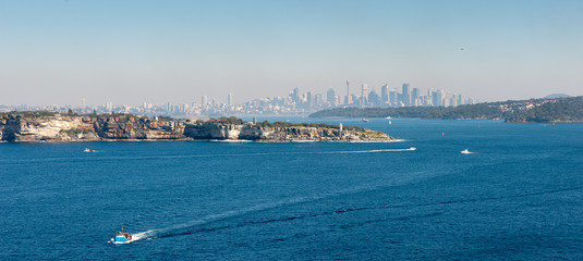 Australia, New South Wales, Sydney, View of cityscape
