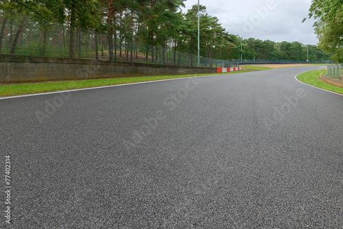 Foto op Aluminium Motorsport Motorsport Rennstrecke 3