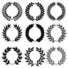 Triumph wreaths set