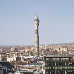 UK, England, London, Cityscape with British Telecom Tower