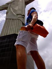 Brazil, Rio de Janeiro, Orange accents in city