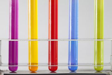 Test tubes in rack
