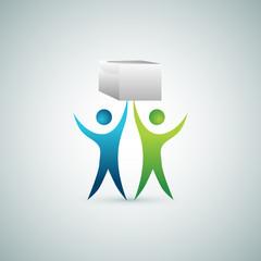 Raising Box Teamwork