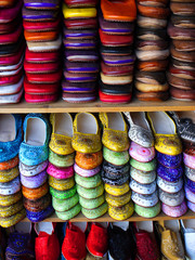Morocco, Moroccan slippers