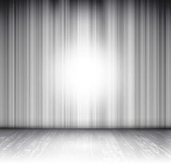 white effect empty scene background
