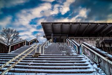 Lost Place Bahnhof München Olympiastadion