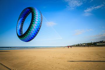 USA, New England, Maine, Ogunquit, Large kite on beach