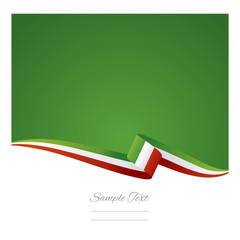 Italy flag background vector