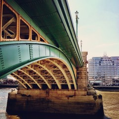 United Kingdom, London, Greater London, Southwark Bridge