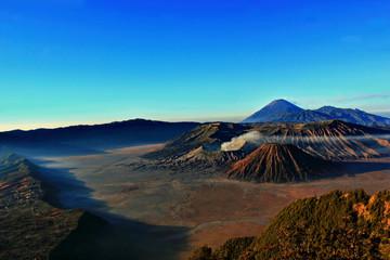 Indonesia, East Java, Bromo mountain at dawn