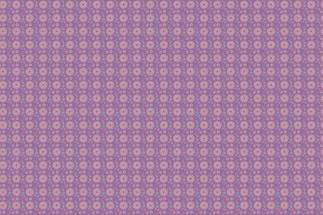 "Pattern lilac ""Summer mood"""