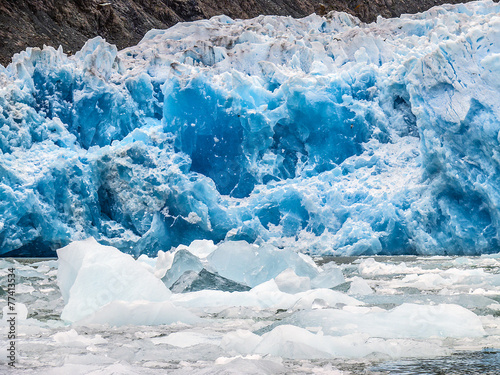 Leinwanddruck Bild Gletscher San Rafael