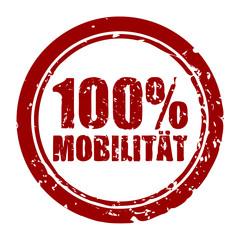 stempel rund v2 100% mobilitaet I