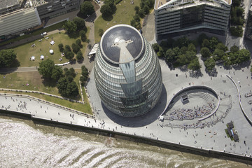 UK, London, City Hall and the Scoop