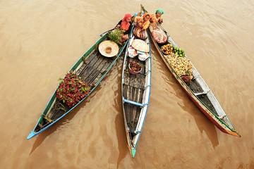Indonesia, South Kalimantan province, Lok Baintan, Floating Market