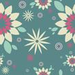 """Pattern green """"Flower"""""""