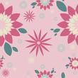 "Pattern light pink ""Flower"""