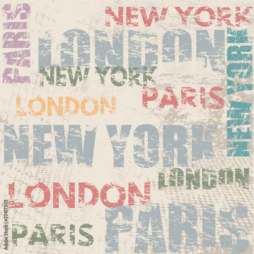 typograficzny-plakat-z-nazwami-miast-londyn-paryz-i-nowy-jork