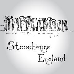 Historical monument Stonehenge, England, UK.