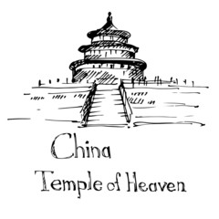 Temple of Heaven in Beijing. China.