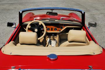 car, oldtimer, red, lifestyle, weekend, waiting,