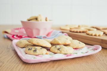 View of cookies