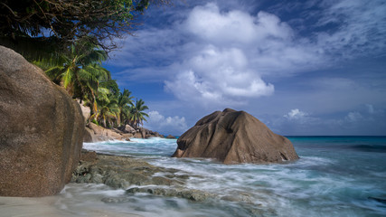 Seychelles, Morning at Anse Patate