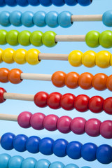 Close up of abacus